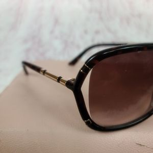 Juicy Couture Accessories - Juicy Couture Tortious Shell Sunglasses w/goldtrim